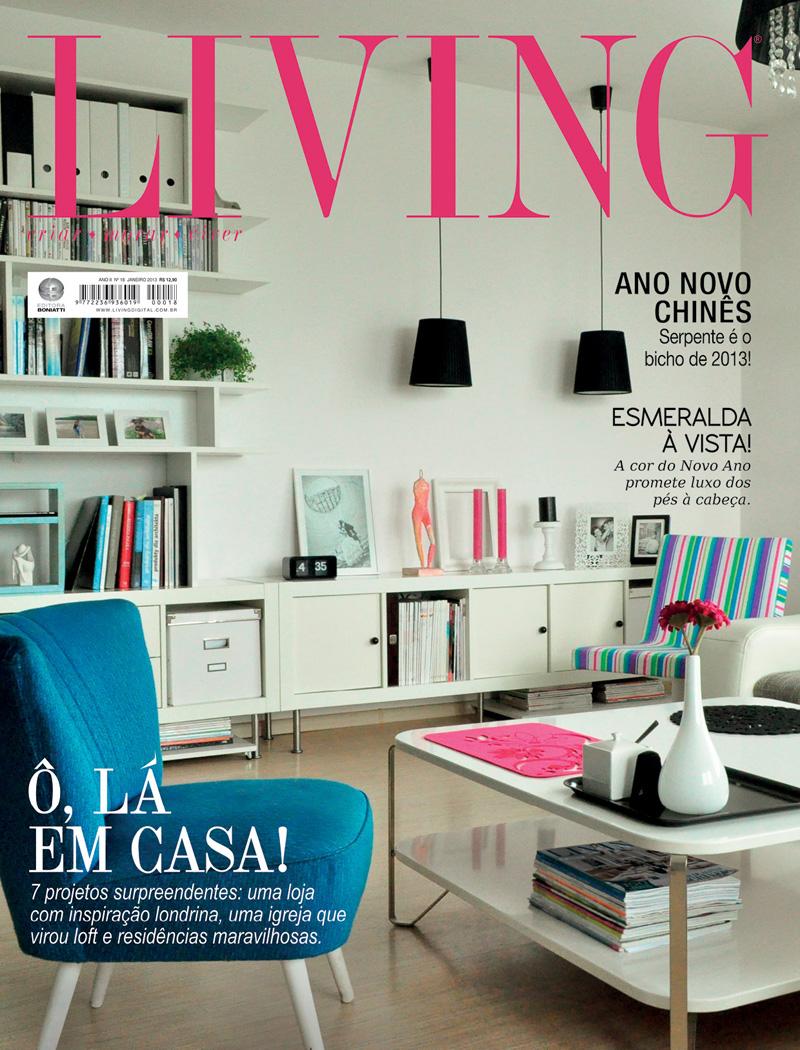 Revista Living - Janeiro 2013