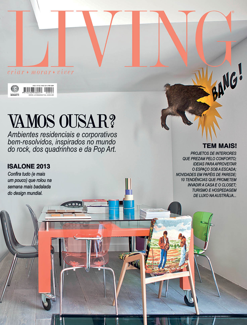 Revista Living - Maio 2013