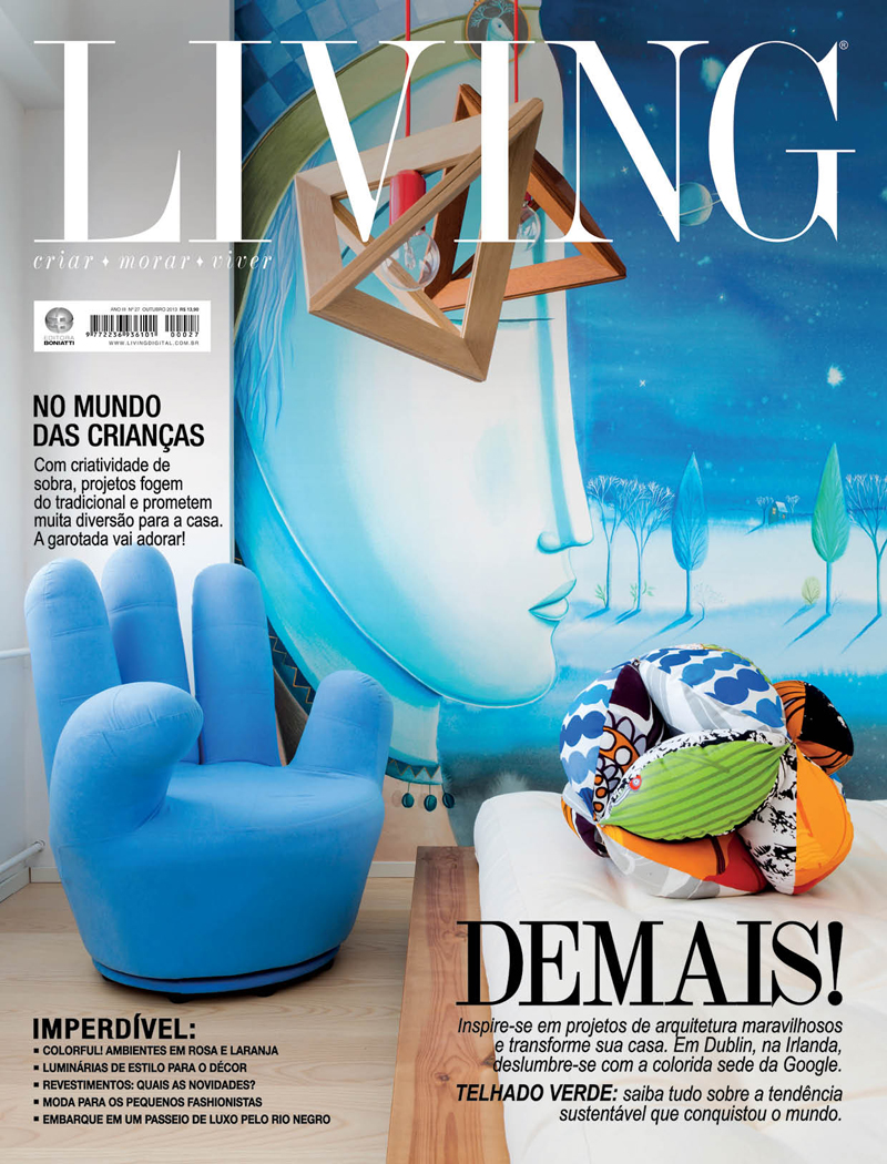Revista Living - Outubro 2013