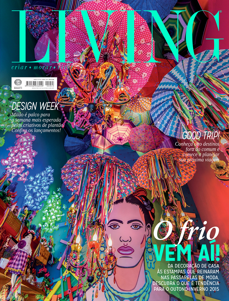 Revista Living - Abril 2015