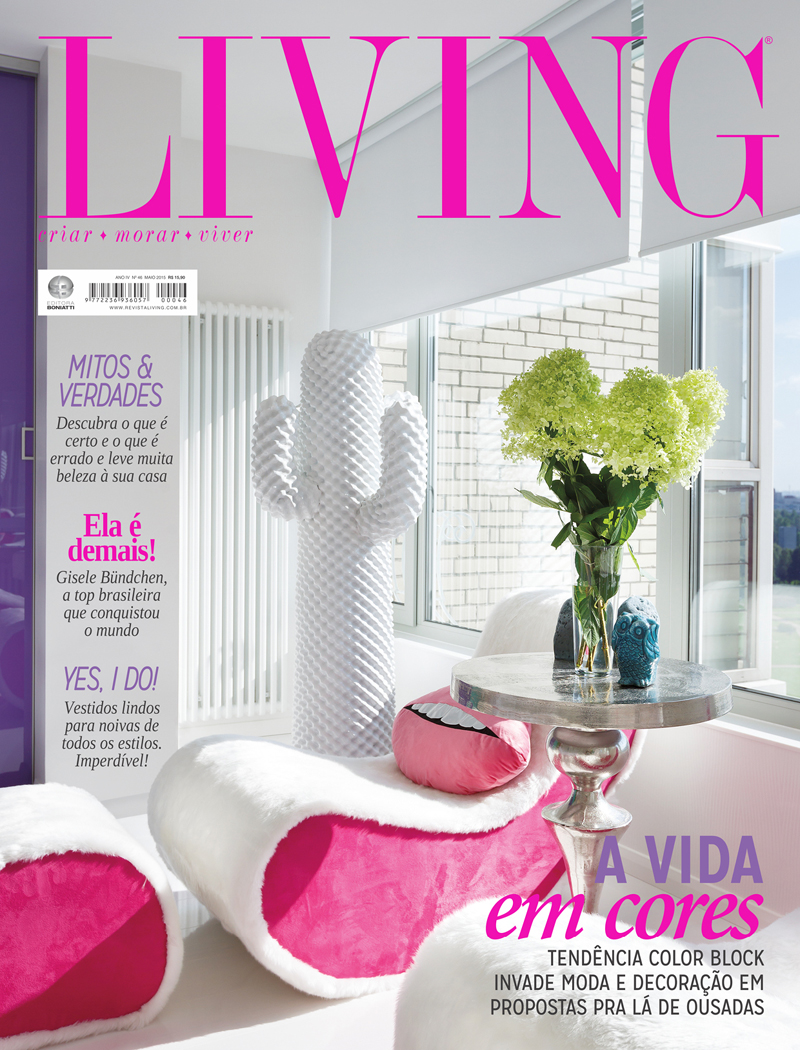 Revista Living - Maio 2015