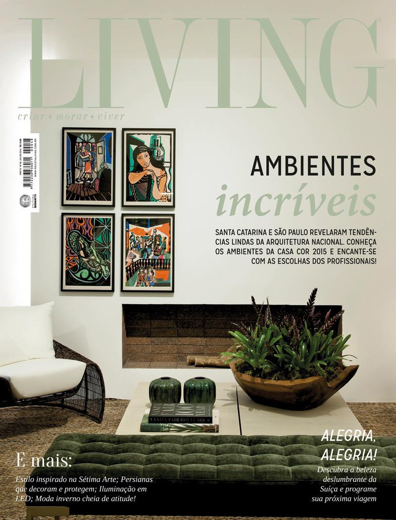 Revista Living - Julho 2015