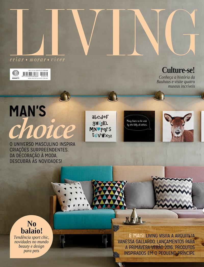 Revista Living - Agosto 2015