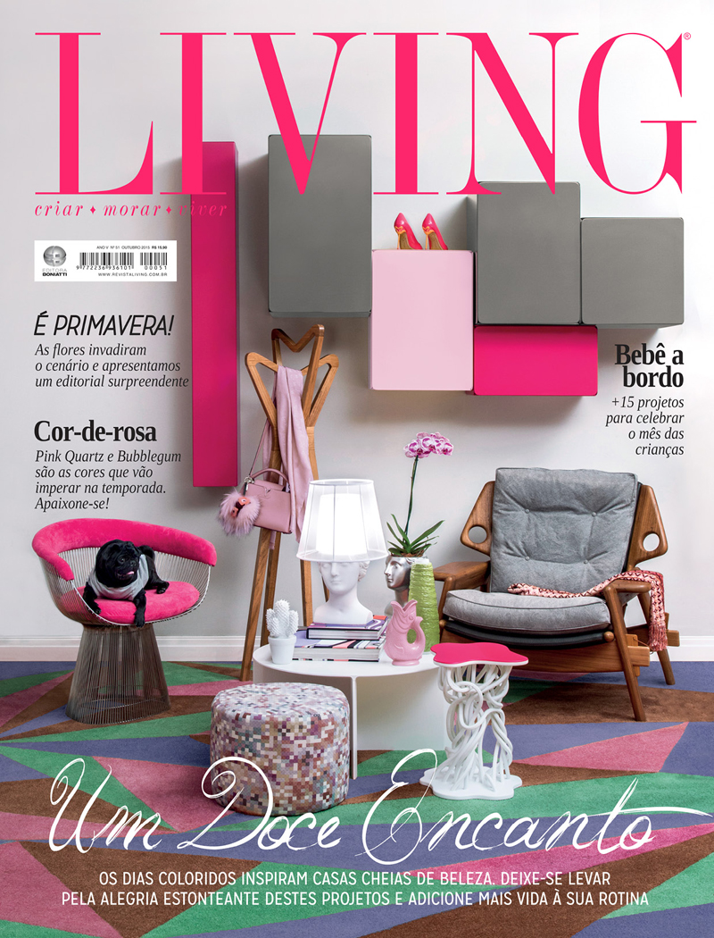 Revista Living - Outubro 2015